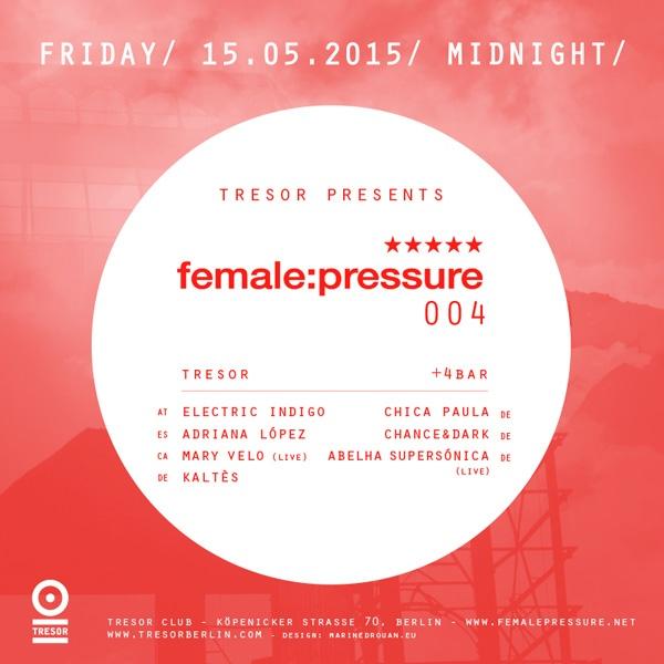 female:pressure @Tresor