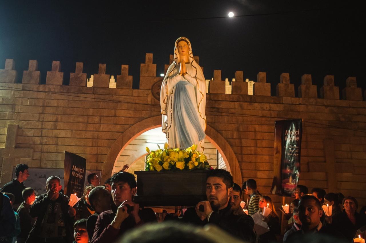 Erbil, procession