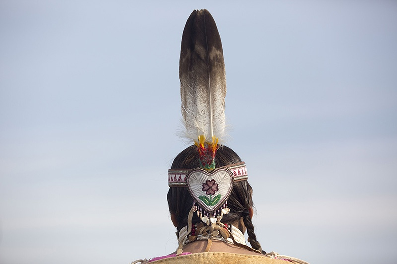 A woman from the Yakima Nation