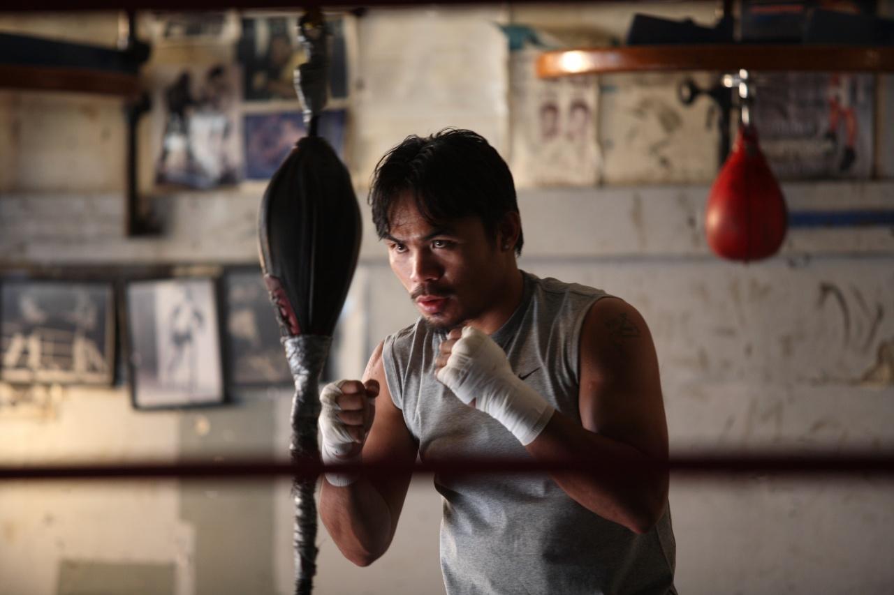 Boxer Manny Pacquiao
