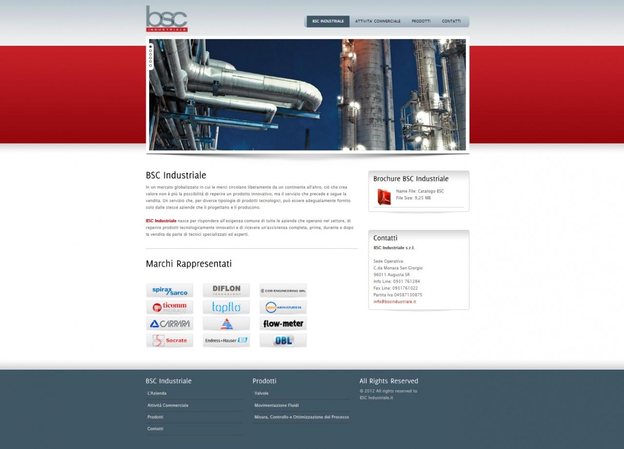 Bsc Industriale Web site