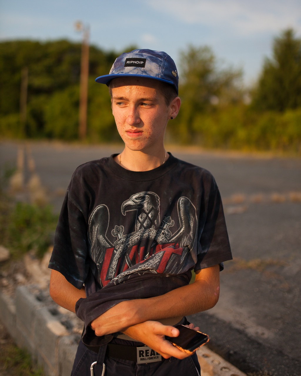Portrait of a Skateboarder