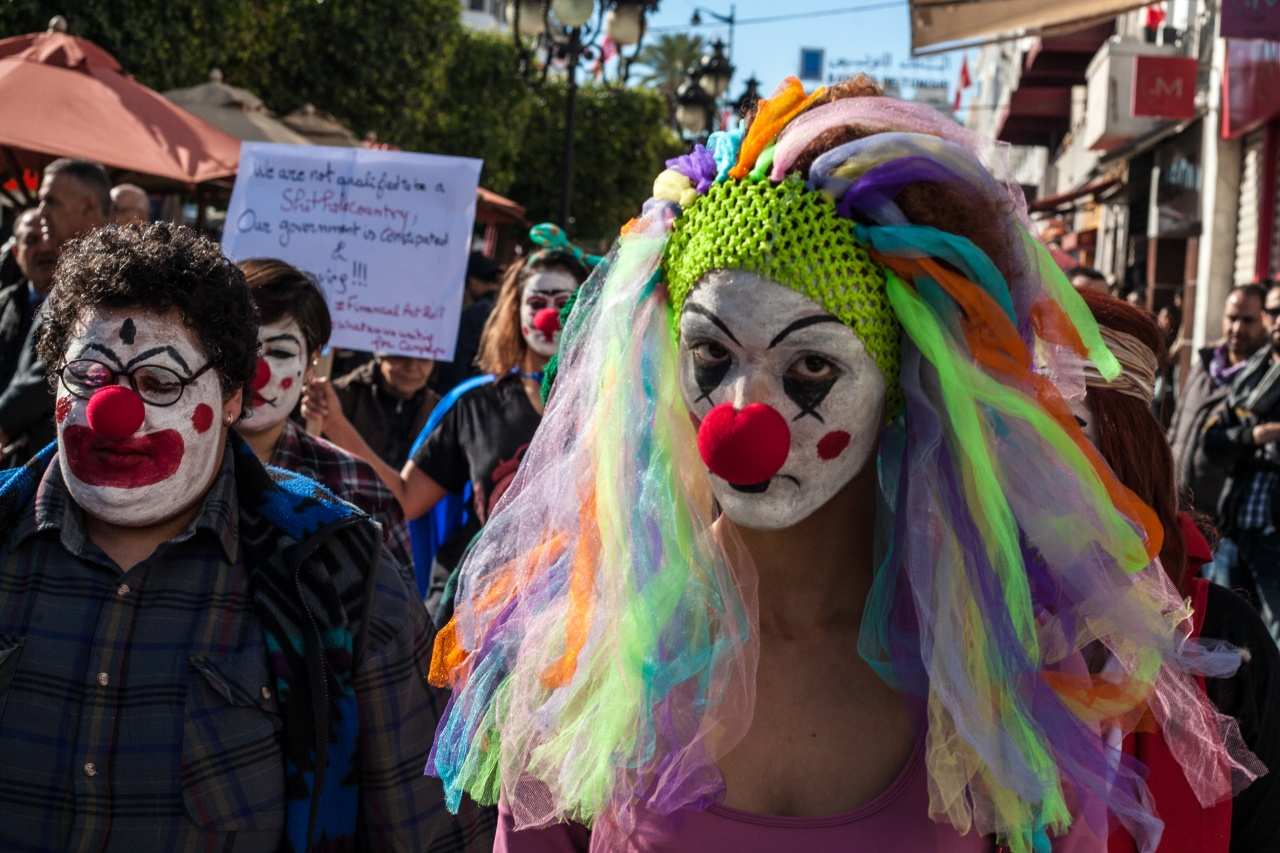 Clowns activists