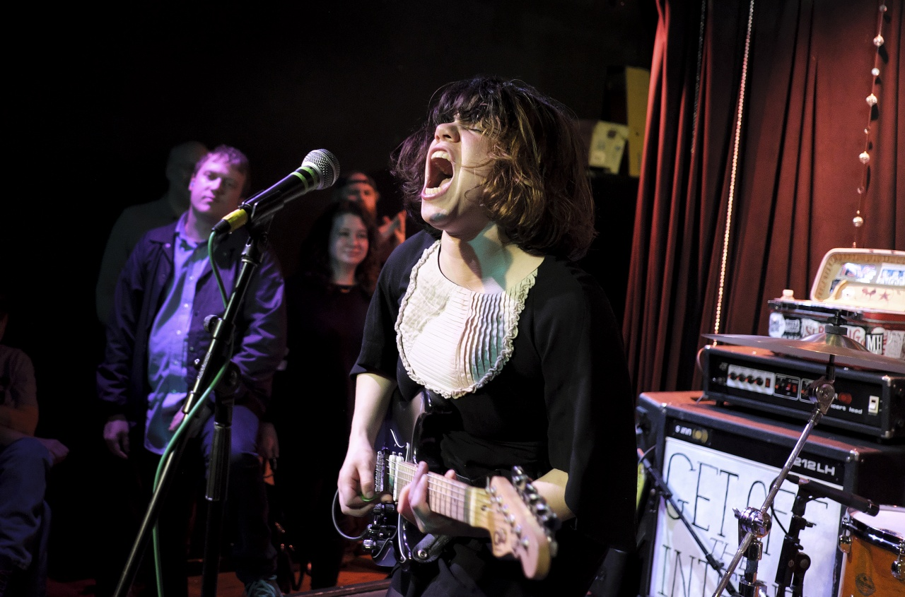 Screaming Females at Monty Hall in NJ