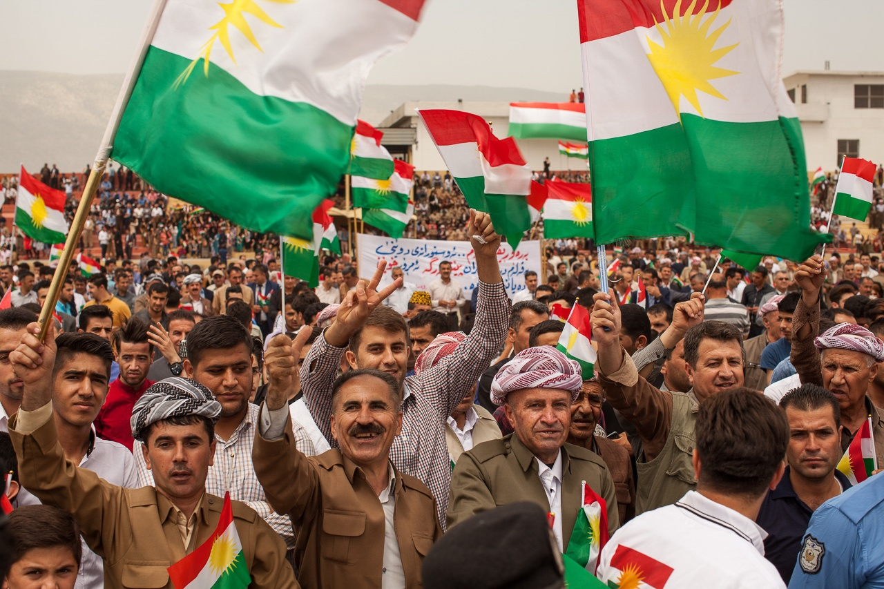 Kurdish Flags for Independence