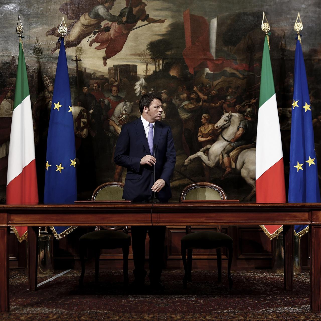 Italian PM, Matteo Renzi