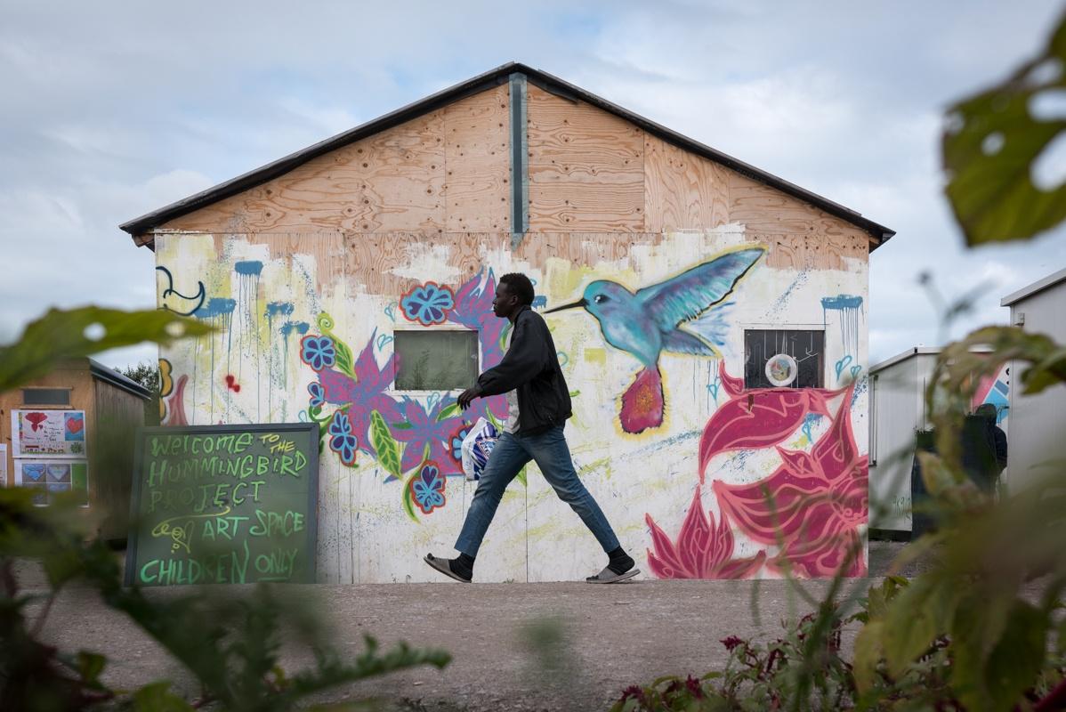 Calais's jungle