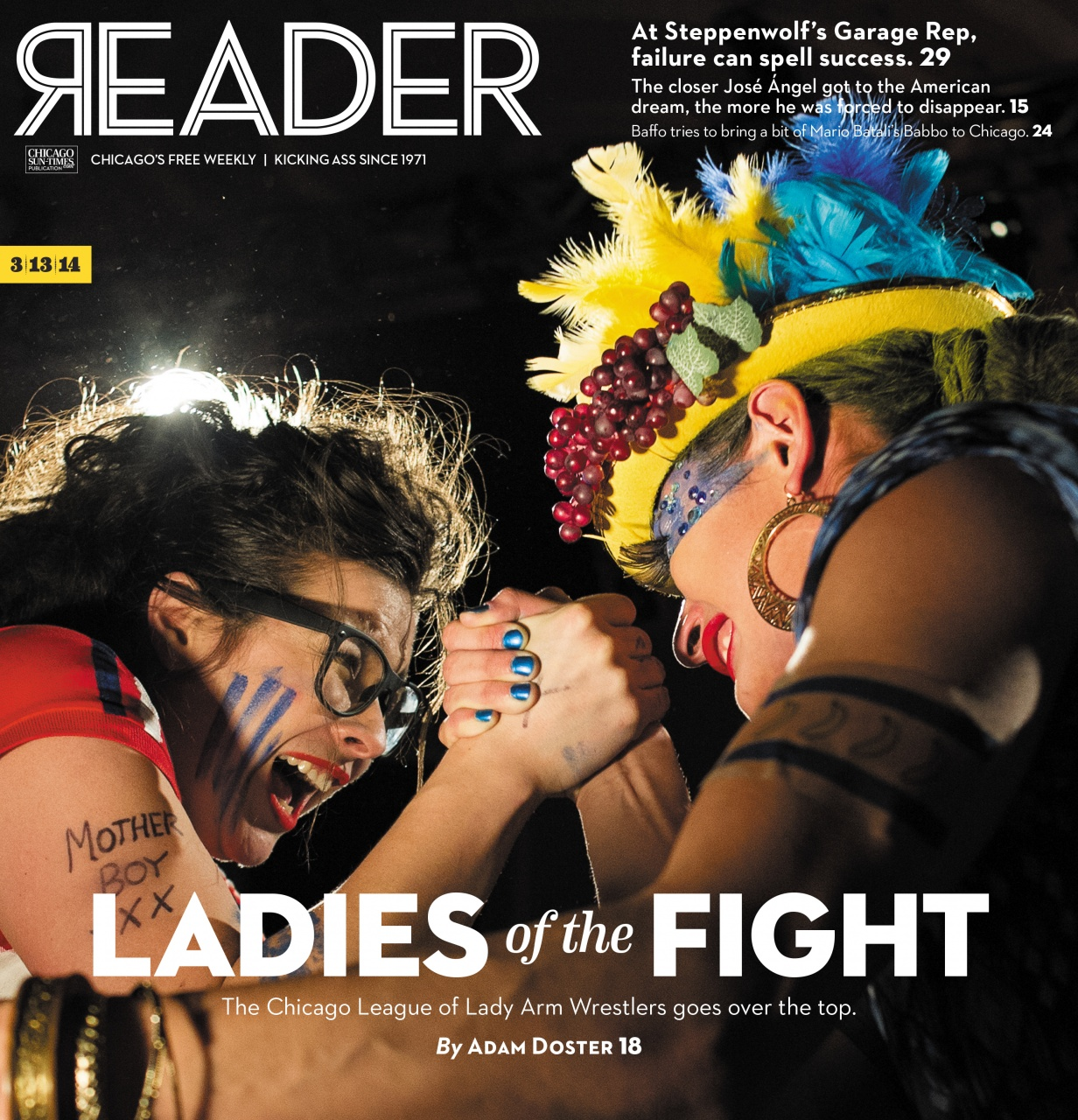 Chicago Reader - League of Lady Arm Wrestlers