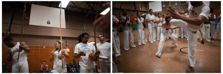 Capoeira batizado for WSJ, NYC