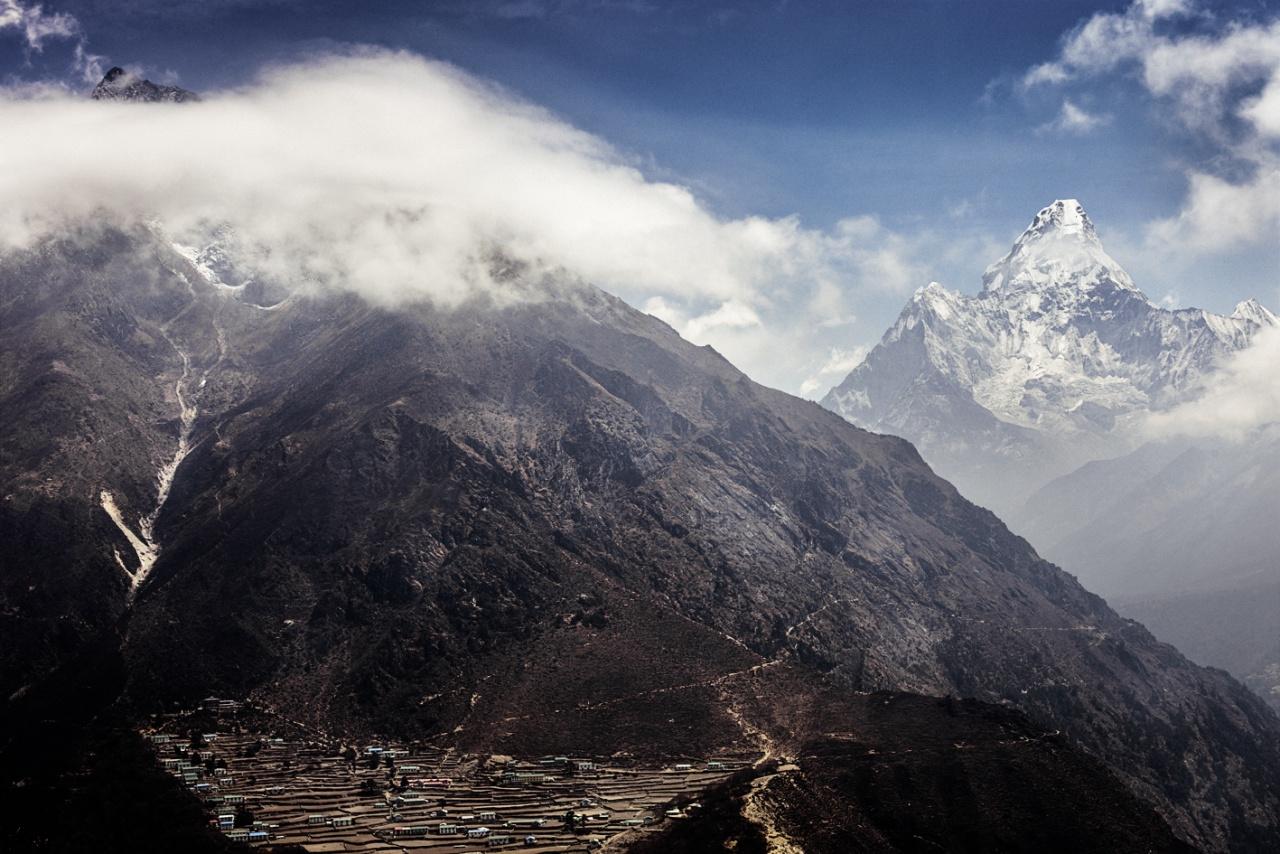 Phortse & Ama Dablam, Khumbu, Nepal