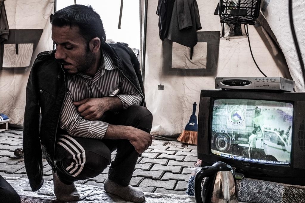 Badin Hamo, a Kurdish Syrian from Kobani