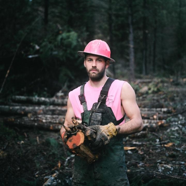 Portrait of a logger