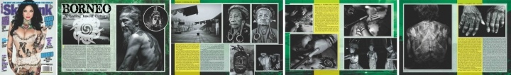 Borneo – A fading inked culture.