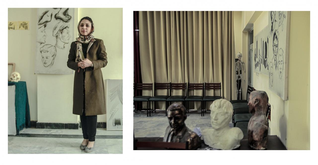 Kabul Art School Portraits