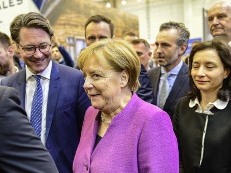 Merkel ILA 2018