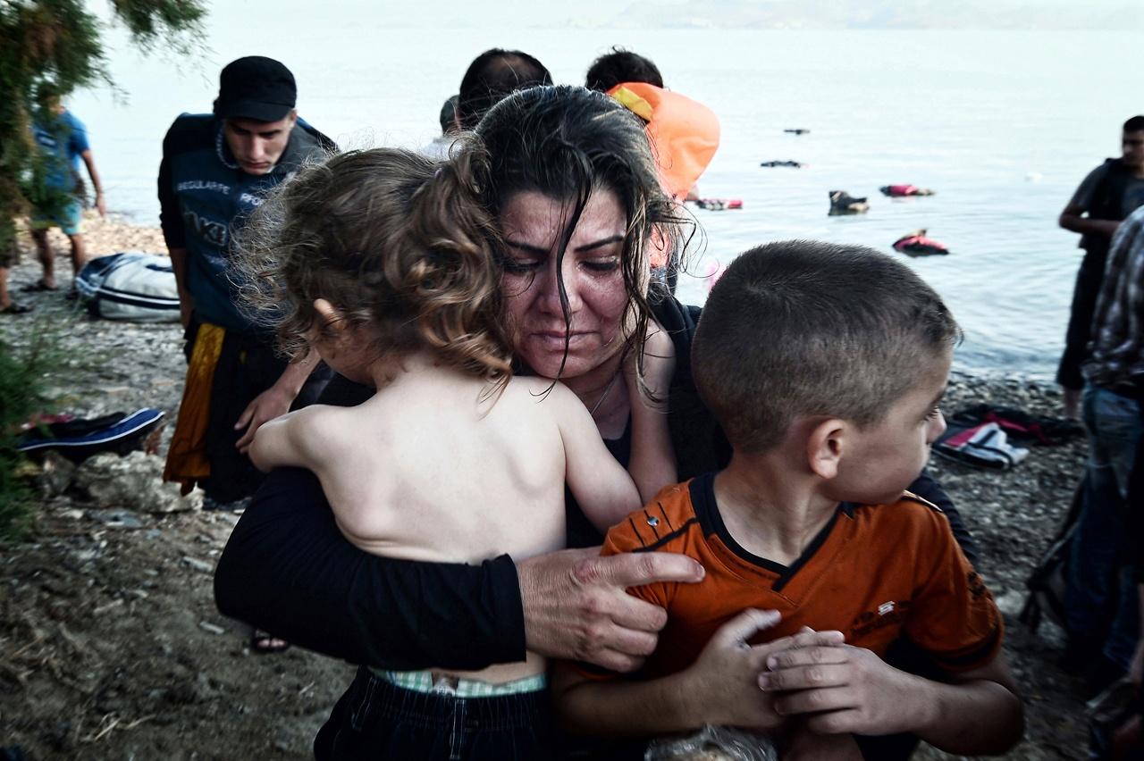 Refugees arrival Kos