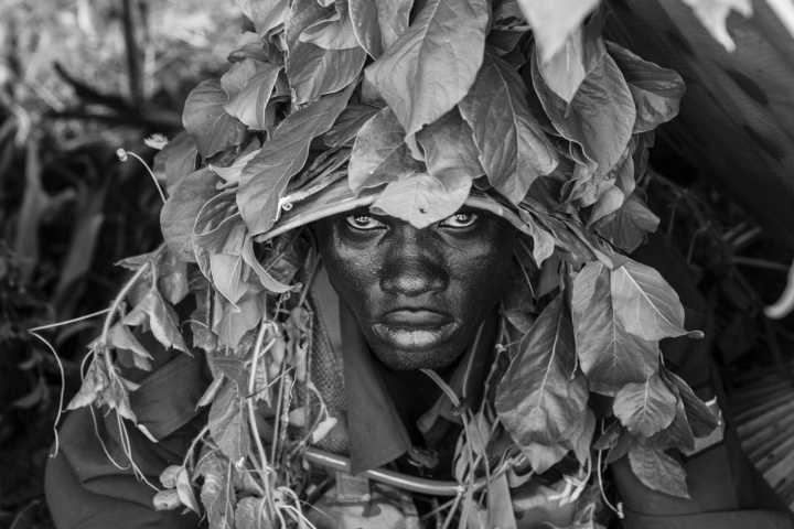 Portrait of LCPL John Bol Chan - South Sudan