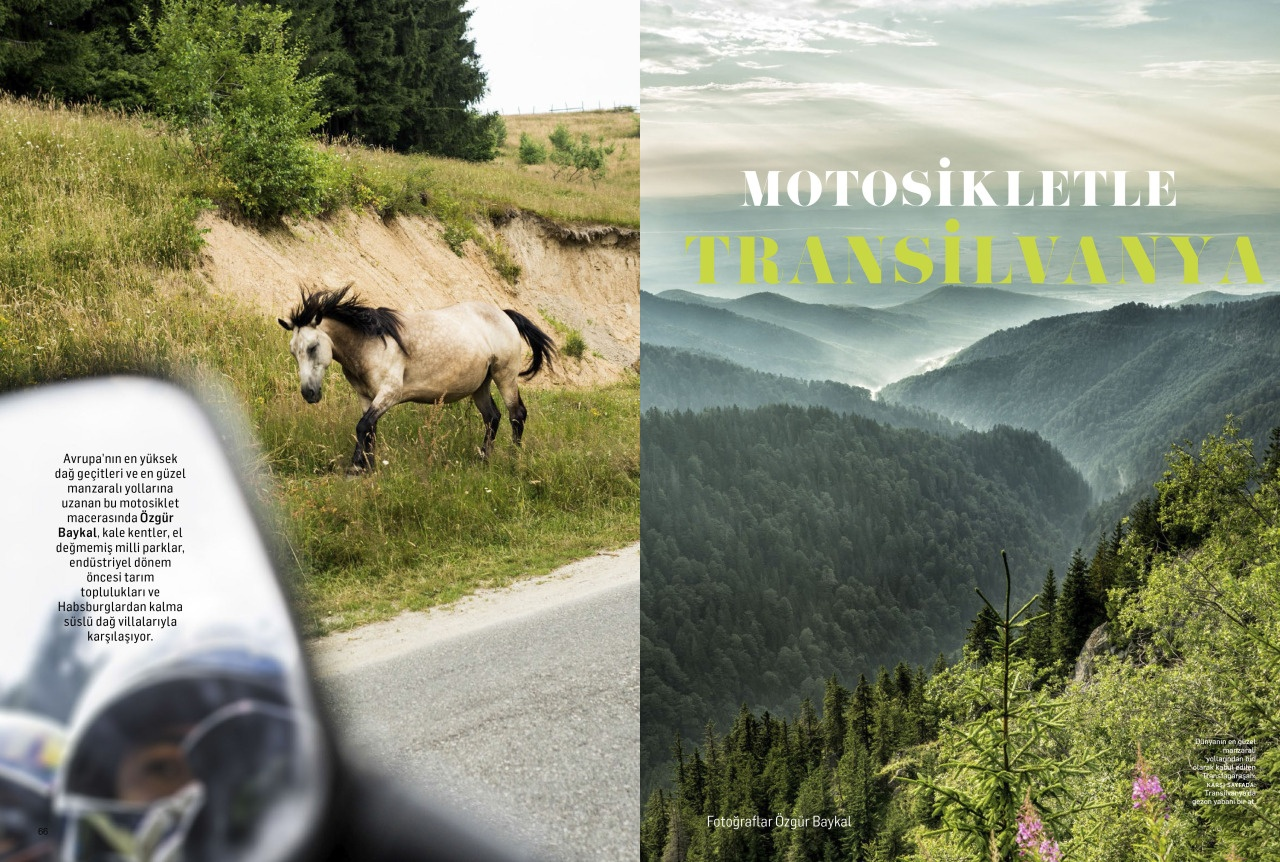Transilvania with Motorcycle
