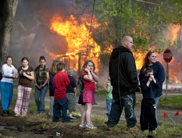 Flint Arson Fire
