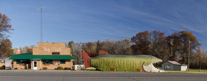 Big Fish Supper Club; Bena, Minnesota 2012-2013