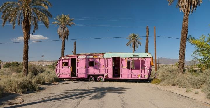 Pink Trailer; Salton Sea, California 2010-2012