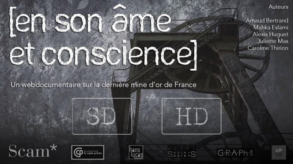 Webdocumentaire : En son âme et conscience