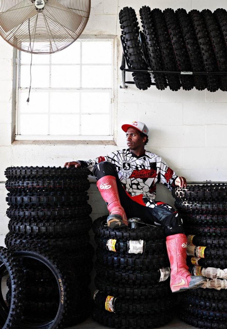MotoX racer James Stewart