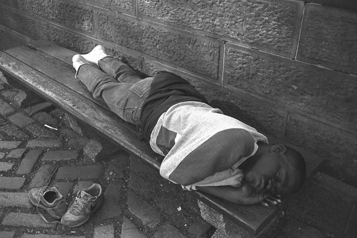 A nap near central park