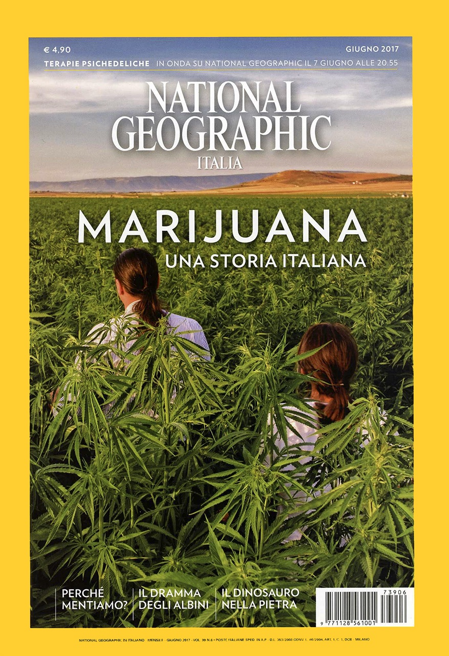 Cover story on National Geographic Italy