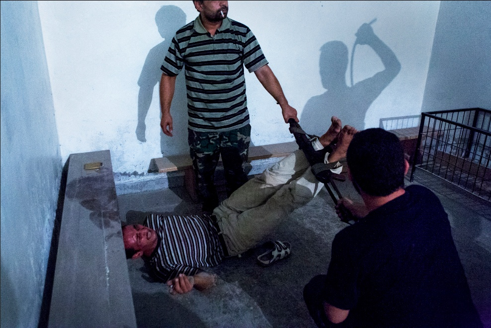 Interrogation in Aleppo