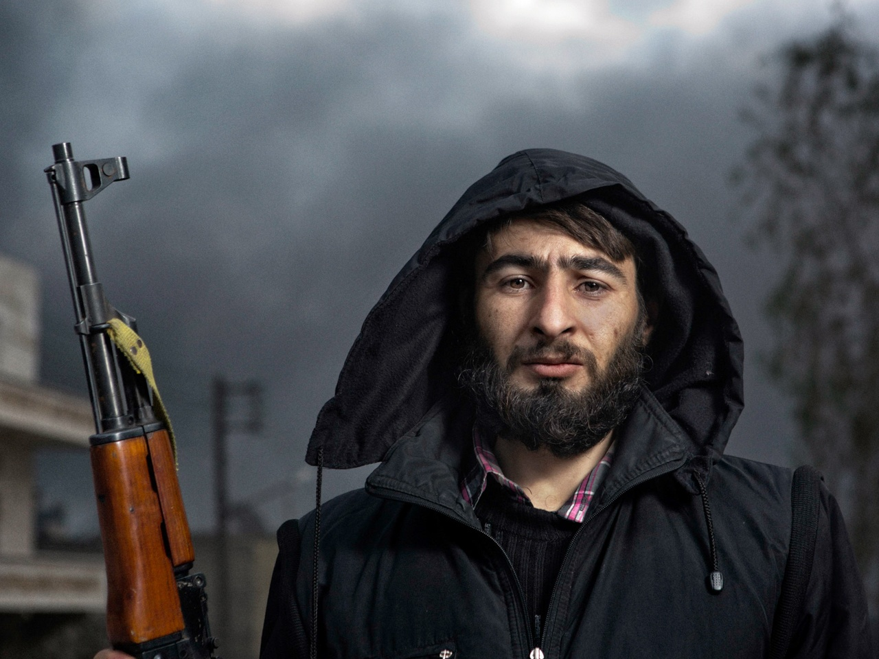 Man with Rifle, Aleppo