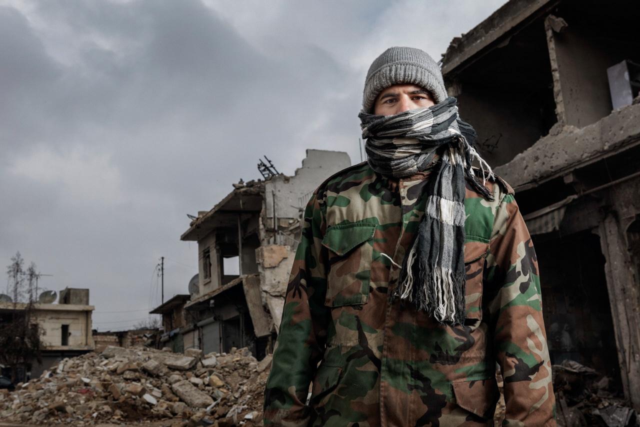 Man in Azaz, Northern Aleppo