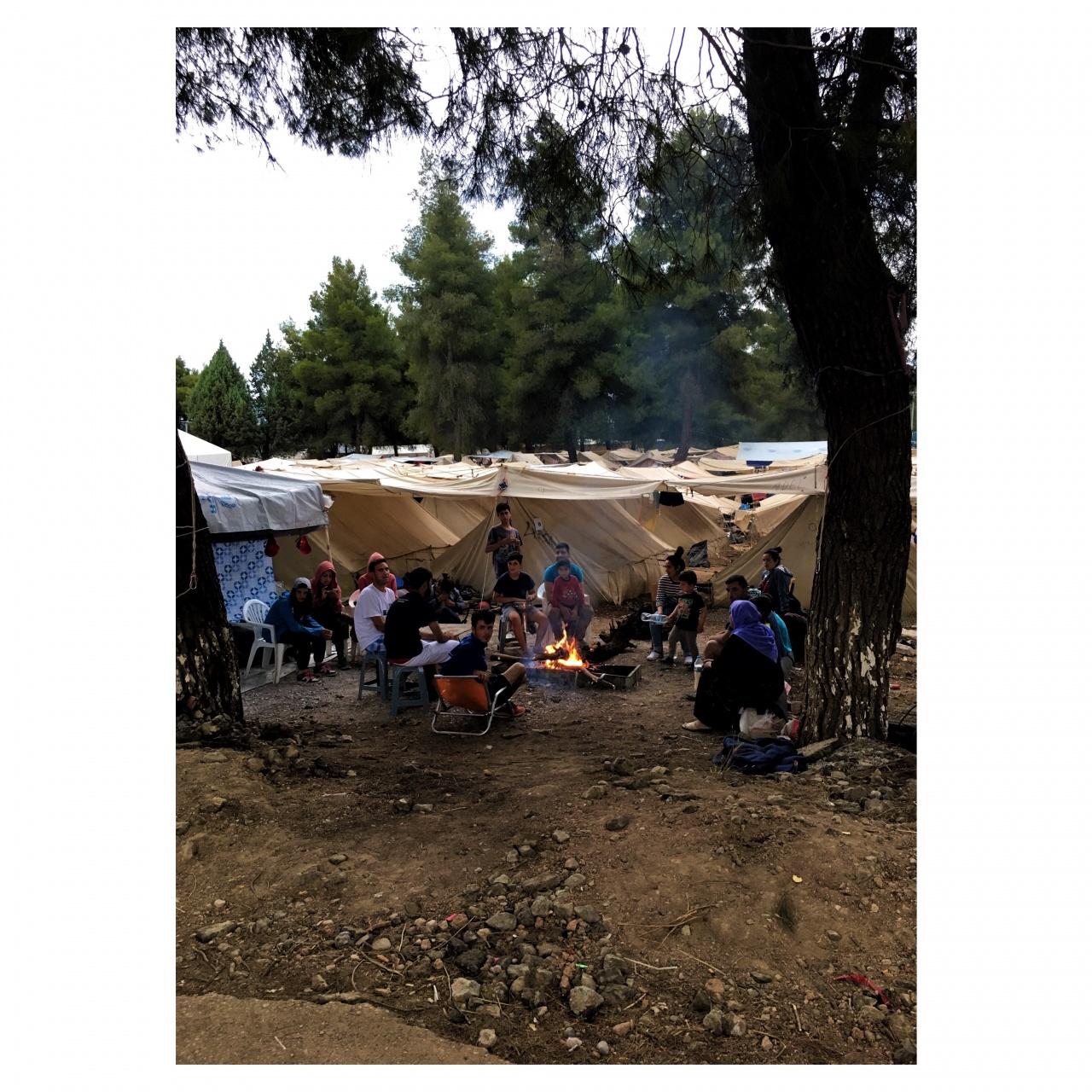The Translation : Ritsona Refugee camp
