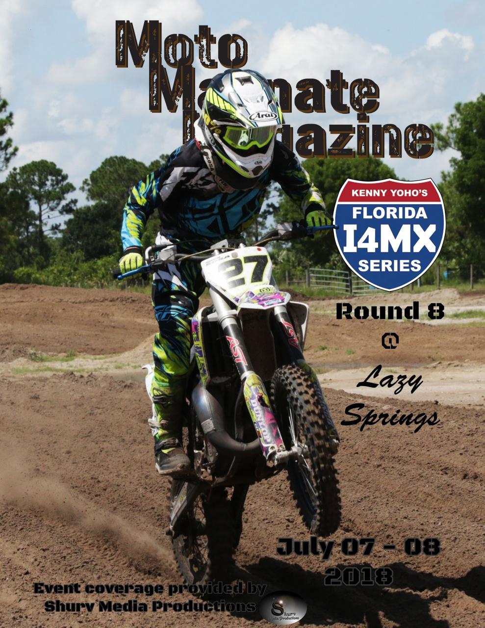 Mock Magazine cover for I4MX