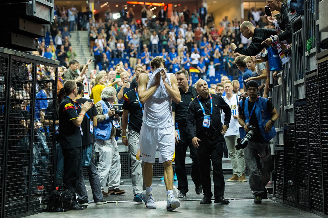Last game of Dirk Nowitzky with national team