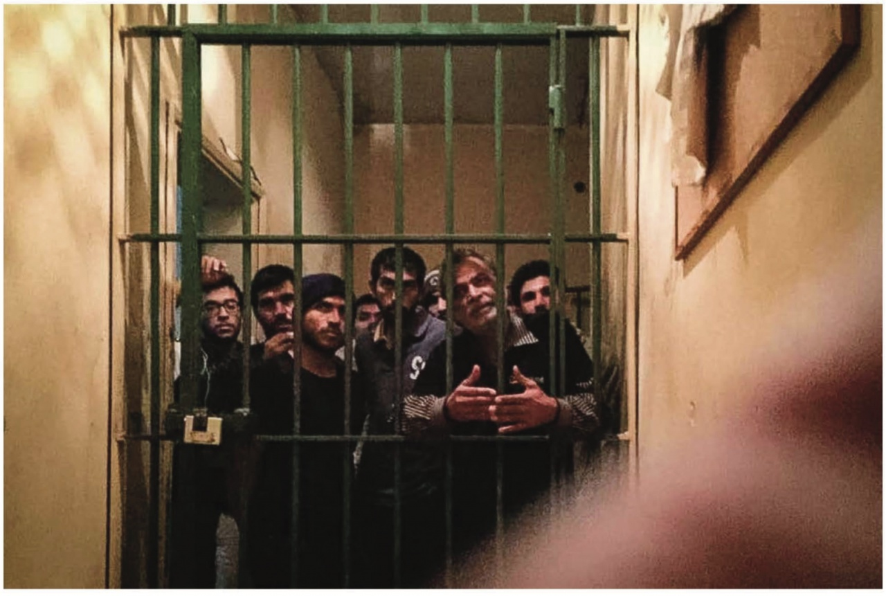 Refugees in jail, Greece