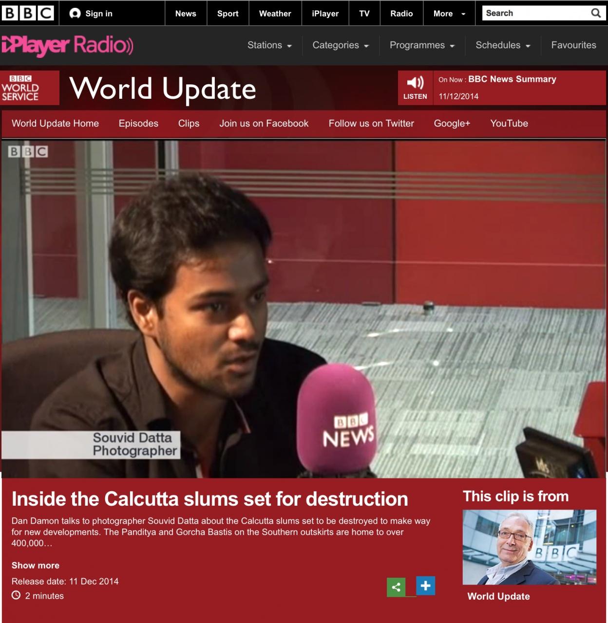 BBC | India Slum Renegeration series