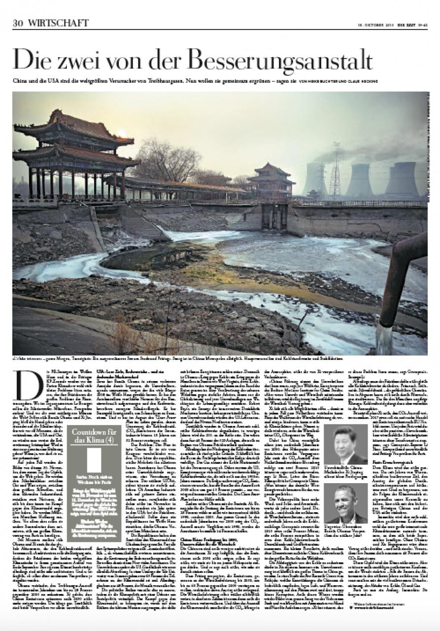 Die Zeit | China Pollution