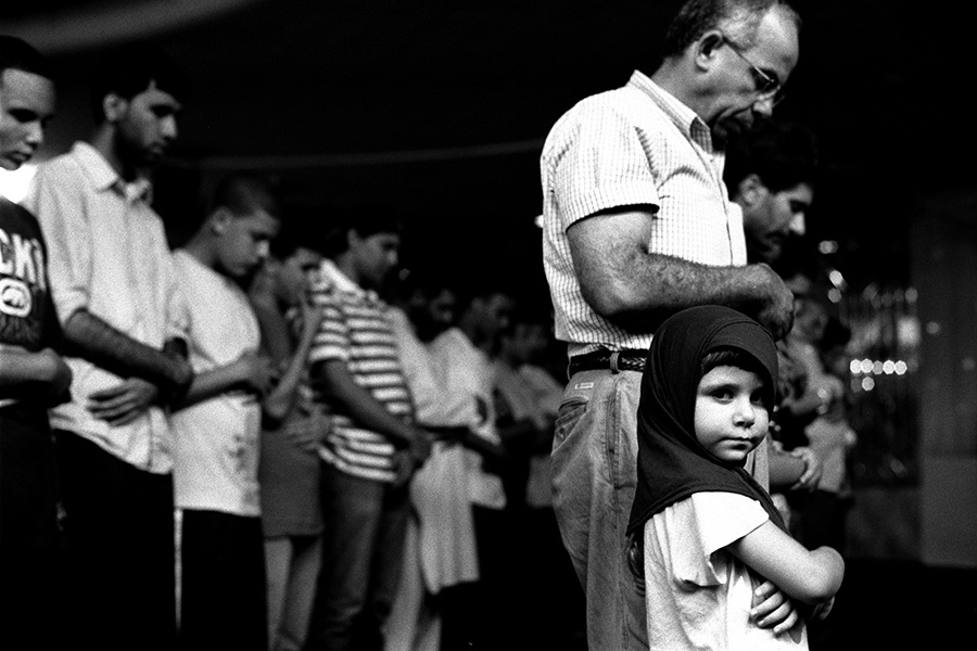 Young Girl at Prayers with her Father