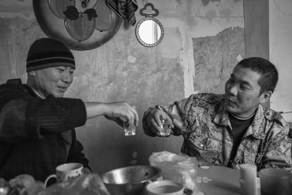 Friends meet again, Kalmykia