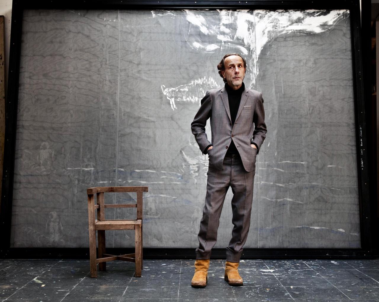 Painter Enzo Cucchi